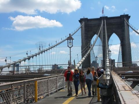 Brooklyn Bridge on Labor Day 2006