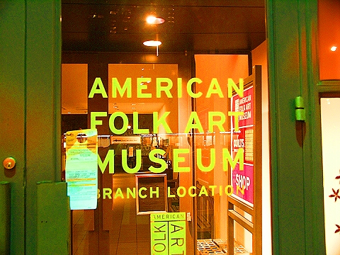 NY- American Folk Art Museum at West 66th and Columbus