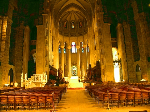 NY- The Cathedral Church of St. John the Divine- Restoration in Progress