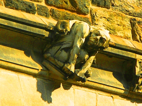 NY- City College of NY, Gothic Campus Gargoyles