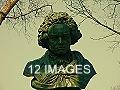 NY- Central Park Promenade- Beethoven Statue