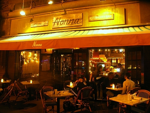 NY- Columbus Avenue Restaurants- Nightshots
