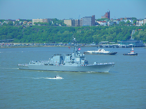 NY- Fleet Week 2007 on the Hudson River