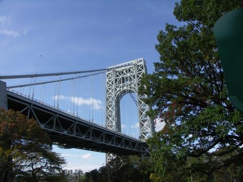 NY- Under The George Washington Bridge