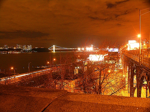 NY- George Washington Bridge, New Years Night 2008