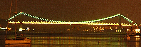 NY- George Washington Bridge, Night Shots