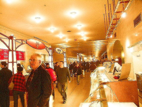 NY- Grand Central Station Terminal- Food Court