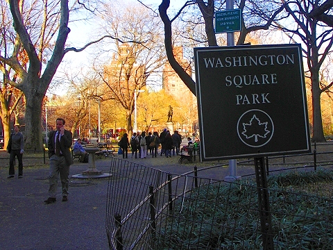 NY- Greenwich Village- Washington Square Park