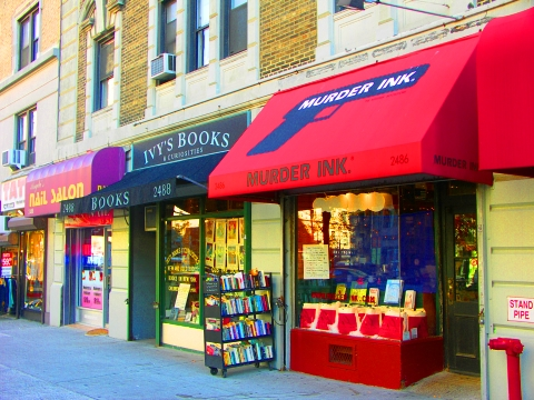 NY- Ivy's Bookstore and Murder Ink, Upper Westside