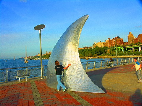 NY- James Johnson's Freedom of Movement at W 70th Pier