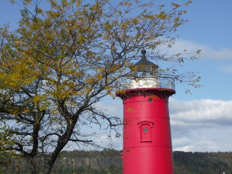 NY- The Little Red Lighthouse under the George Washington Bridge