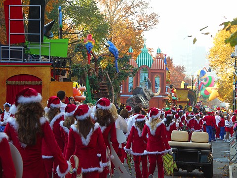macy's thanksgiving day parade channel
