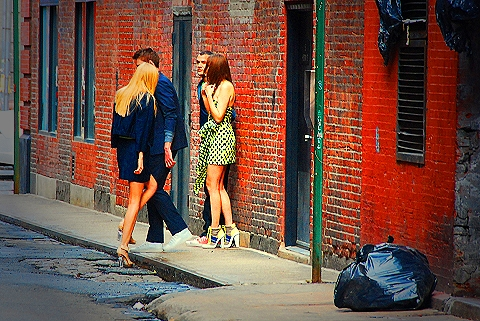 NY-Tribeca Model Photo shoot