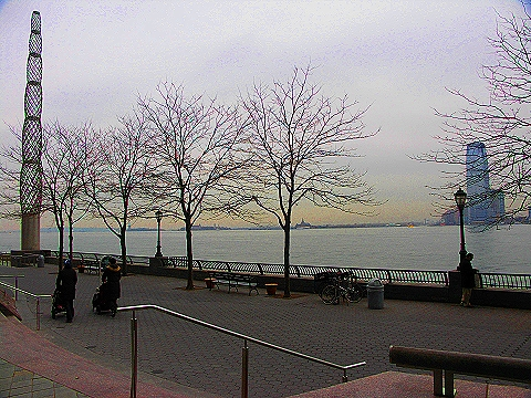 NY- Nelson A. Rockefeller Park in Battery Park City