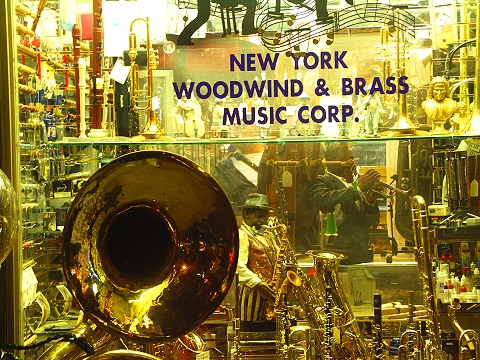 NY- New York Woodwind and Brass Music Corp- 48th between 6th and 7th Avenues