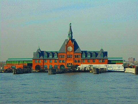 NY- NJ Railroad Terminal Building