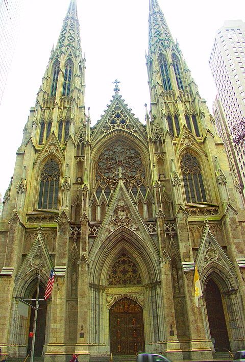 NY- Saint Patrick&#8217;s Cathedral