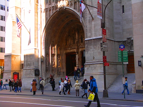 NY- Saint Thomas Episcopal Church on 5th Avenue