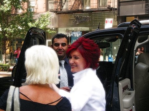 NY- Sharon Osbourne at the ABC Studios