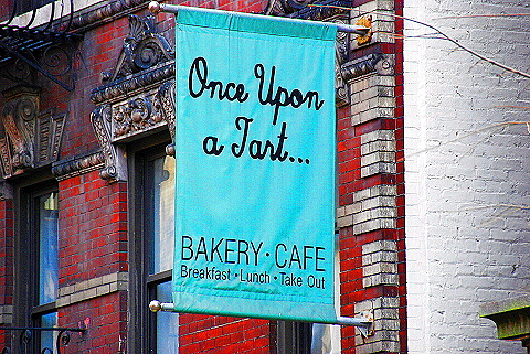 NY- Soho- Windows and Signs- Once Upon a Tart