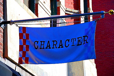 NY- Soho- Windows and Signs- Character