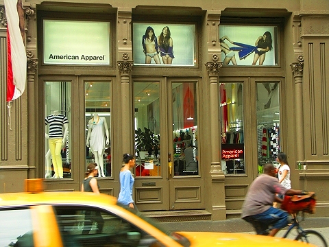 NY- Soho- American Apparel- Greene Street-