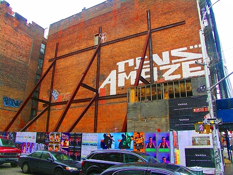 NY- Soho Street Art- Graffiti