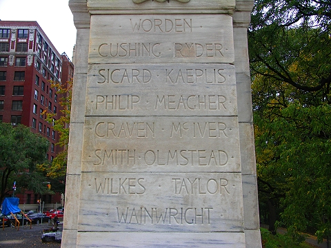 NY- Soldiers'' and Sailors'' Monument- Riverside Park