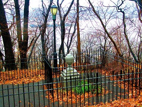 NY- The Amiable Child Monument- Riverside Park