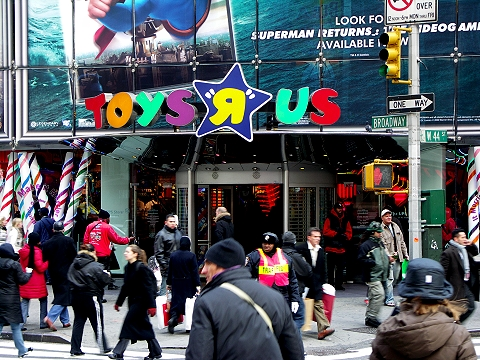 NY- Times Square-Toys R Us- Christmas Shopping