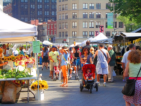 NY- Union Square- Greenmarket-Farmers market- cenyc