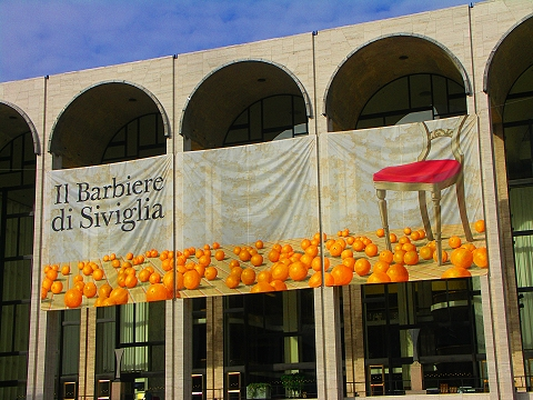 NY- Lincoln Center, The Barber of Seville–Il Barbiere di Saviglia