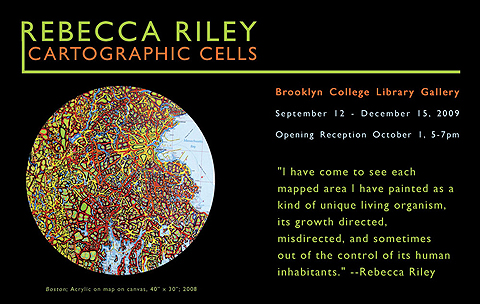 NY- Rebecca Riley- Cartographic Cells- Brooklyn College Library